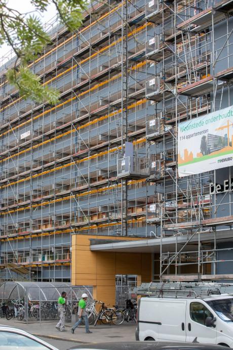 Bewoners flat Ede willen geld zien na slopende verbouwing