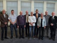 Acht koninklijke onderscheidingen uitgereikt in Steenbergen