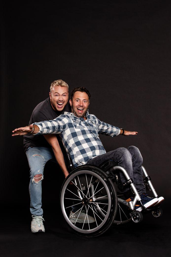 Thomas Maas (36) uit Woerden is één van de deelnemers van het nieuwe tv-programma Over Winnaars waarin mensen met een fysieke beperking met presentator Jamai Loman de uitdaging aangaan.