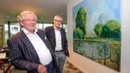 Kunstenaar schenkt schilderij aan Polderwind
