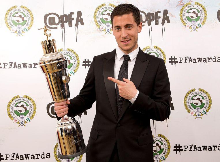 Eden Hazard pakte de prestigieuze prijs in 2015.