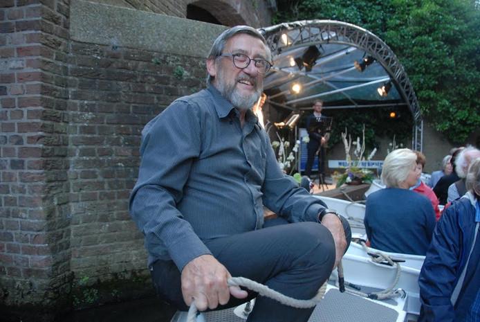 Medeorganisator Matthieu Hogenboom van stichting Havenconcert.