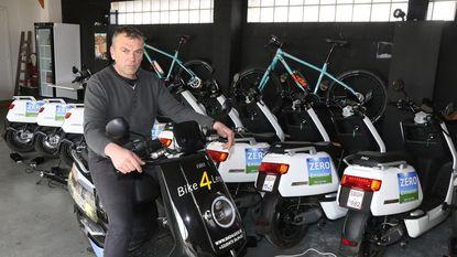 Op de e-scooter door Heuvelland