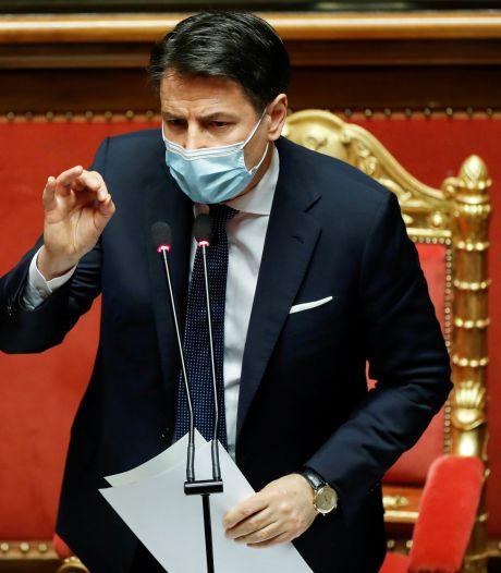 Crise politique en Italie: Giuseppe Conte va quitter ses fonctions de Premier ministre