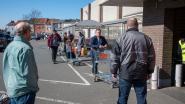 """Druk aan de winkels in Gentse regio maar het hamsteren lijkt voorbij: """"Mensen aanvaarden stilaan de situatie"""""""