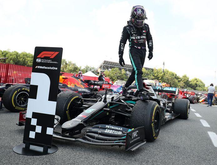 Lewis Hamilton, intouchable leader du championnat.