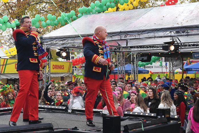 Het was de hele dag feest in Overloon met verschillende optredens.