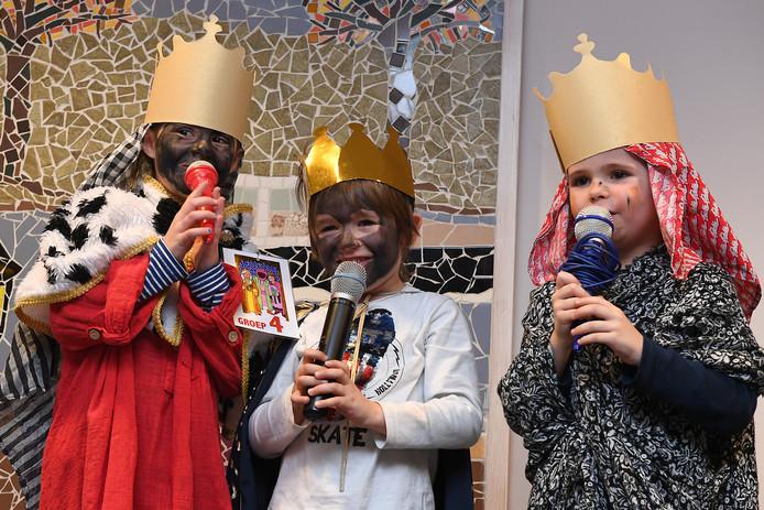 Een koninklijk optreden in Catharinahof.