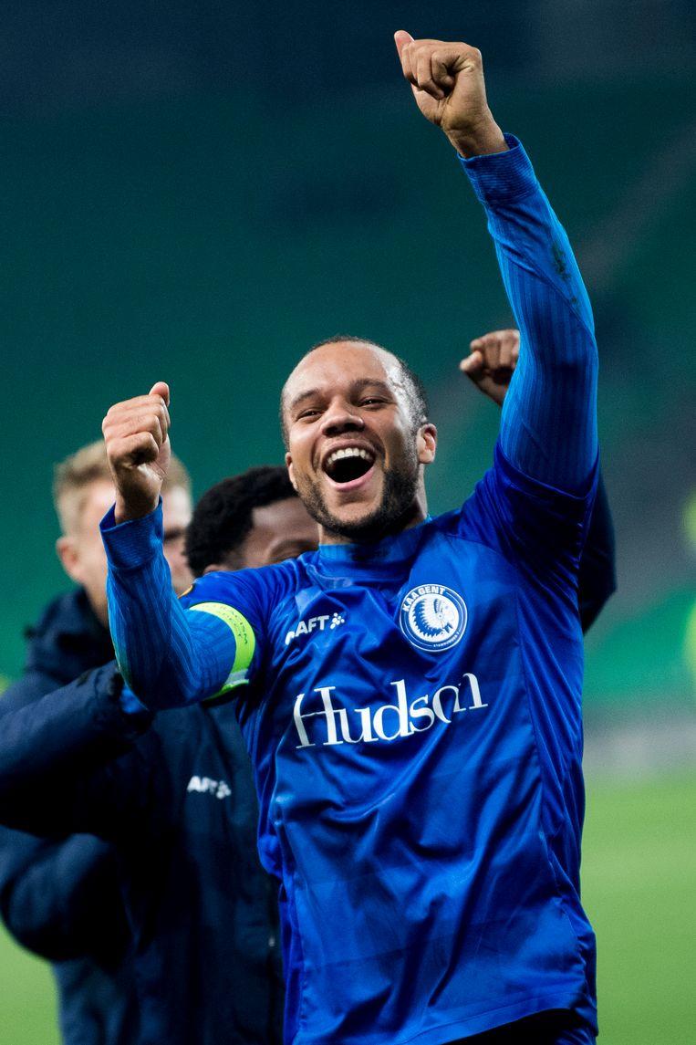 """""""Er was heel veel strijd, maar het voetbal was langs beide kanten niet goed"""", vertelde Vadis Odjidja"""