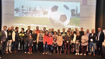 Sportlaureaten van Zulte gehuldigd