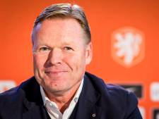 Koeman moet aanvoerder van Oranje nog aanwijzen: 'Ik heb een team in gedachten'