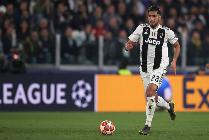 Emre Can in actie namens Juventus.