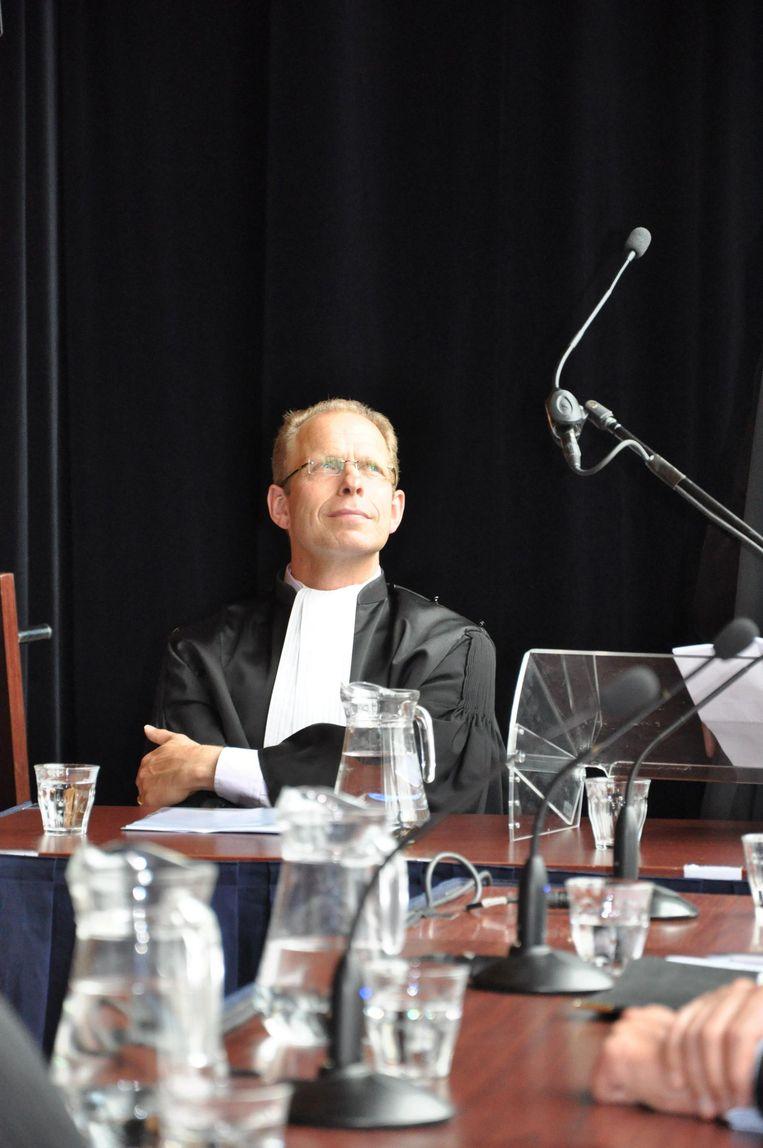 Van der Burg deed als officier van justitie diverse spraakmakende zaken. Beeld