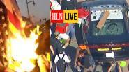 HLN LIVE. Winkels in brand en politiewagens vernield: protest in VS neemt toe na dood van zwarte man