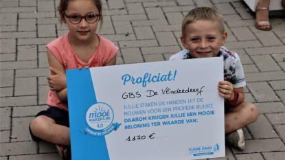 Mooimakers van GBS De Vlinderdreef krijgen beloning van 1.170 euro