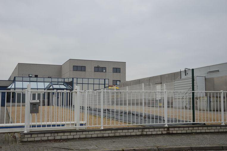 De bedrijfshal van Cloë langs de Merellaan.