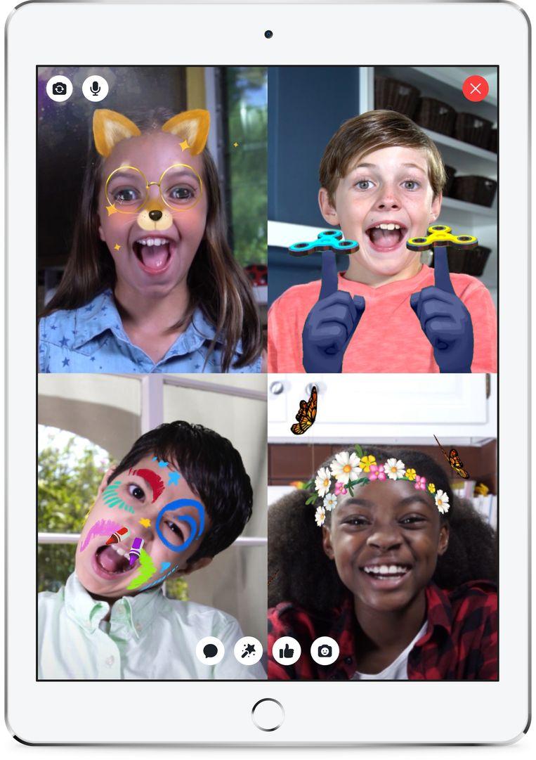 Facebook lanceert Messenger Kids app in de VS