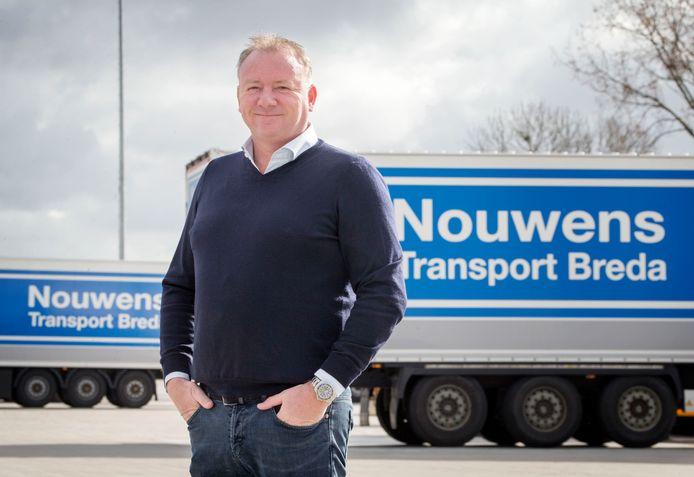 Dennis Nouwens van Transportbedrijf Nouwens.