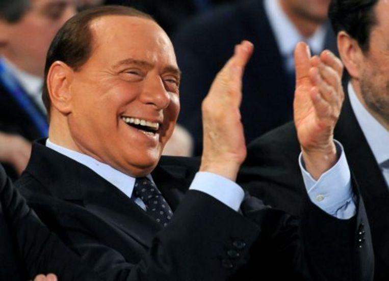 Berlusconi is de rijkste politicus van Italië. ANP Beeld