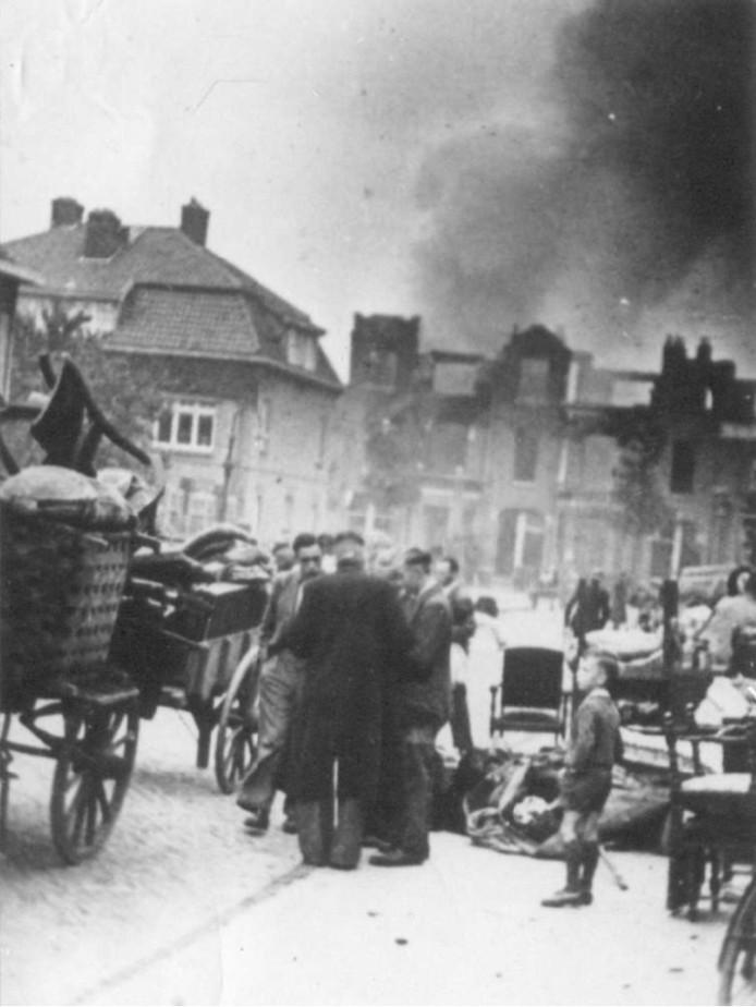 Brand in de Heydenrijckstraat vandaag 75 jaar terug.