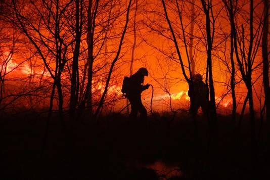 Opnieuw brand in de Peel.