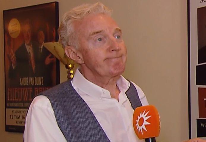 Van Duin reageerde emotioneel op zijn nominatie.