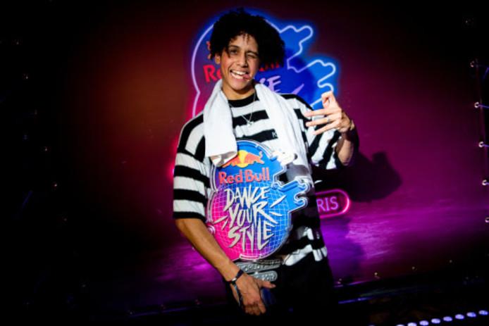 Shinshan uit Malden is de winnaar van de eerste editie van internationale danswedstrijd Red Bull Dance Your Style.