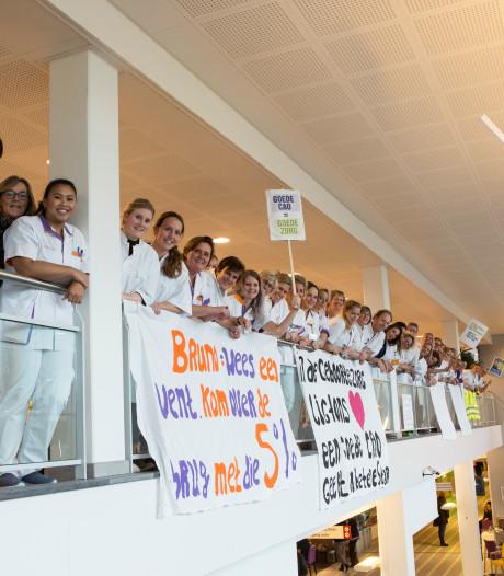 150.000 zorgmedewerkers doen woensdag mee aan grootste én de eerste landelijke ziekenhuisstaking