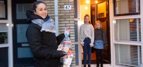 In Apeldoorn brengt de juf het voorleesontbijtje aan de deur