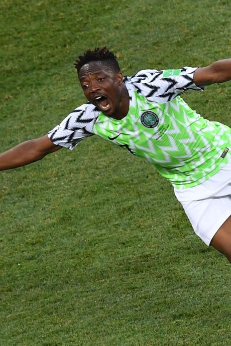 Musa bezorgt Nigeria zege op IJsland, ook Argentinië blij