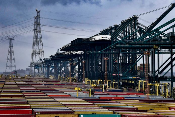 (Illustratiebeeld) De Antwerpse haven.