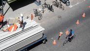 """Kabel van kraan knakt tijdens hijsen betongewelf: """"We hebben véél geluk gehad"""""""