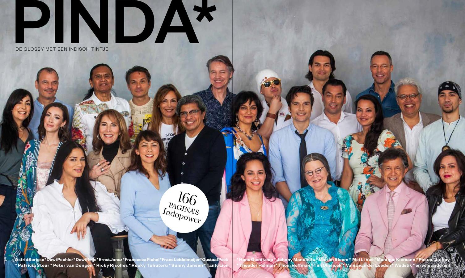 19 september 2019 verschijnt PINDA* de glossy met een Indisch tintje.