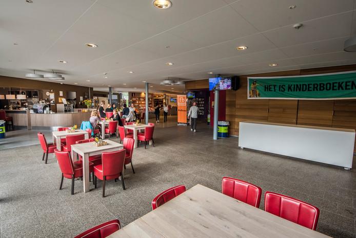 Het Kulturhus wordt binnenkort verbouwd, vooral de foyer krijgt een meer huiselijke uitstraling.