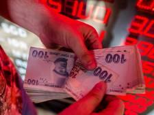 Turkse lira in vrije val door conflict met VS: laagste waarde sinds crisis
