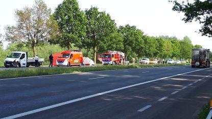 Bestuurder Porsche (48) overleeft zware crash op N42 in Zottegem niet