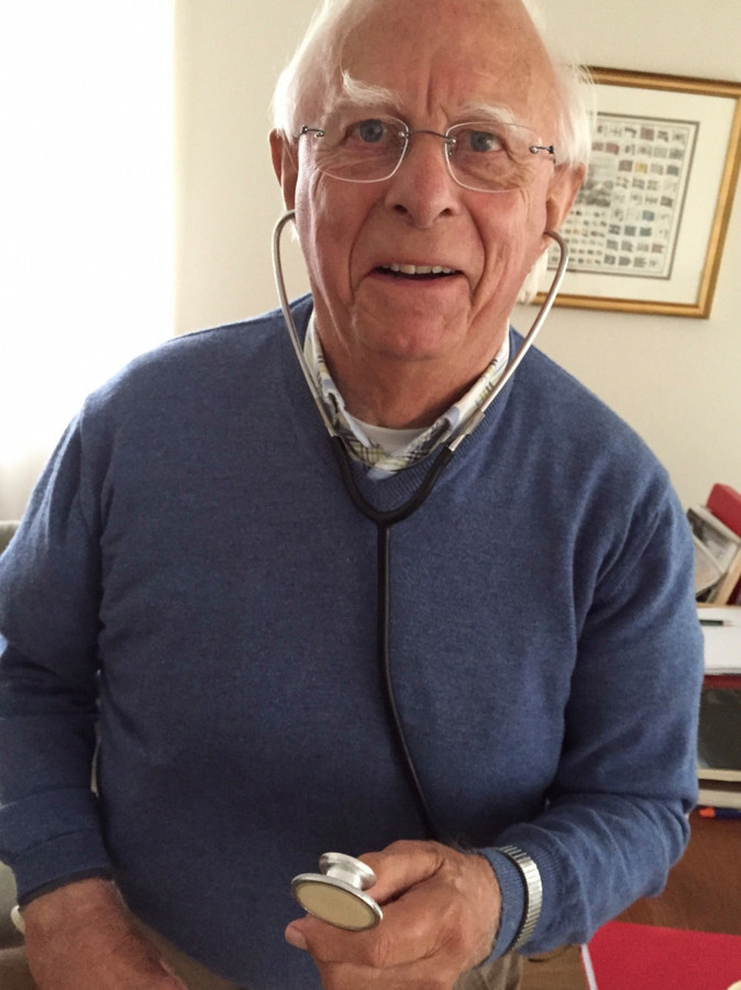 Oud-huisarts Piet Sweep
