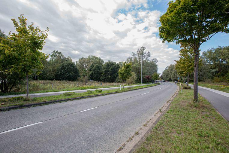 Het project zou hier links langs de Affligemsestraat komen en geeft uit aan de Oude Muilenstraat.