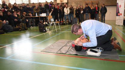 Campagne Week van het Hartritme afgetrapt in Sint-Pieterscollege