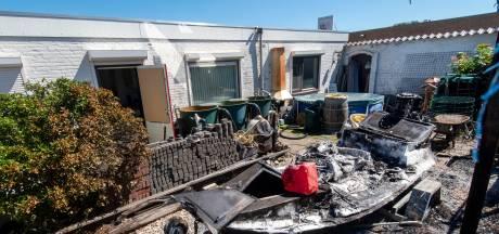 Opluchting en boosheid in de straat waar Mario zijn huis vol benzine en ontstekers stopte