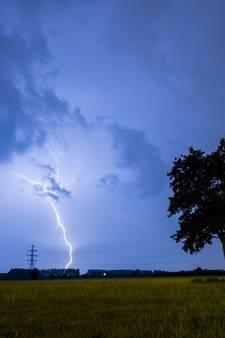 Code geel: Zwaar onweer op komst