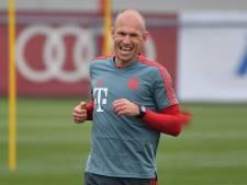 Bayern München verwelkomt Robben terug op trainingsveld