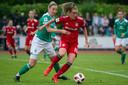 Jill Roord in actie namens Bayern München.