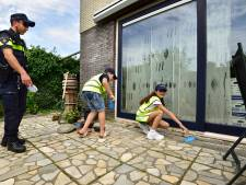 Kinderen halen (en geven) wit voetje door boef te spelen in Boskoop