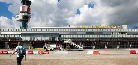 Minder passagiers op Rotterdam The Hague Airport