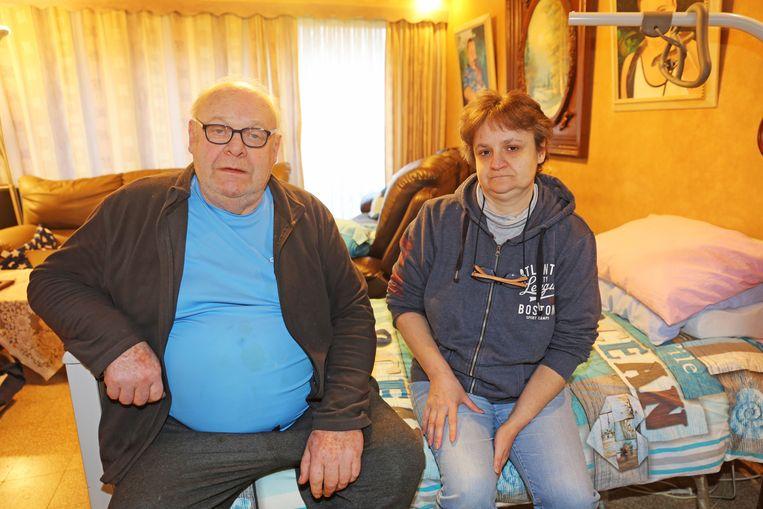 Benoni en Nancy Deneve willen dat de huisvestingsmaatschappij dringend de woningen in de wijk Cantillon aanpakt.