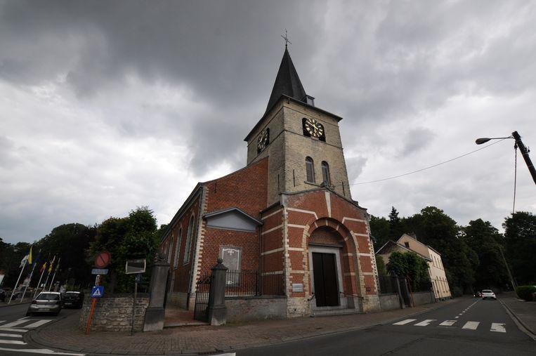 Ook in de Sint-Pancratiuskerk in Sterrebeek kunnen inwoners tijdens de hittegolf de koelte vinden.