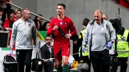 FT buitenland. Geblesseerde Ronaldo maakt zich geen zorgen - De Bruyne, Kompany en Witsel trainen weer