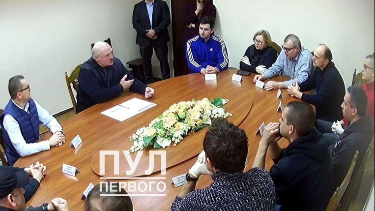 null Beeld PRESS OFFICE OF THE PRESIDENT OF BELARUS