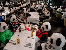 Pandamie in Duits restaurant